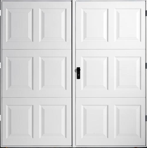 Side Hinged Garage Doors Garador Georgian