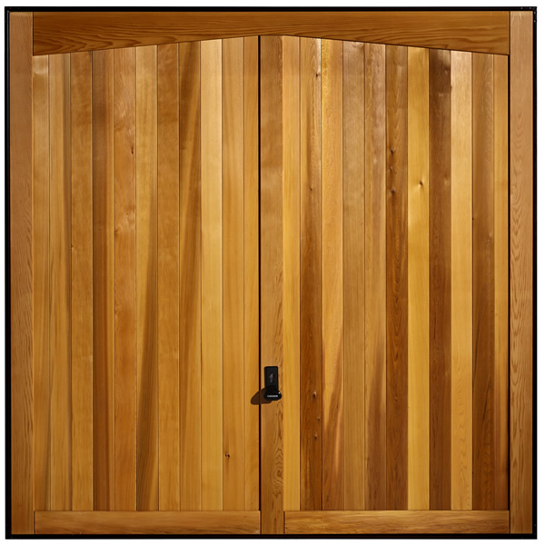 Bon A Timber Based Garage Door Very Similar To The Vertical Cedar And Carlton  With Its Relatively Narrow Vertical Detail Which Includes A Modification To  The ...